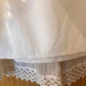 St. John's Bay Skirts - New St. John's Bay white eyelet midi skirt XL